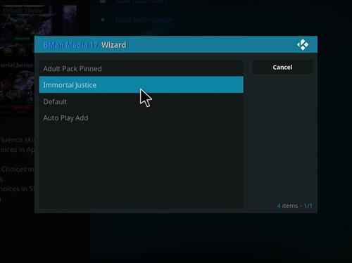 How to Install X-onic Kodi Build With Screenshots step 27