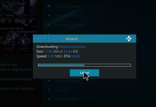 How to Install X-onic Kodi Build With Screenshots step 28