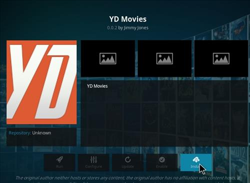 How to Install YD Kodi Add-on with Screenshots step 18