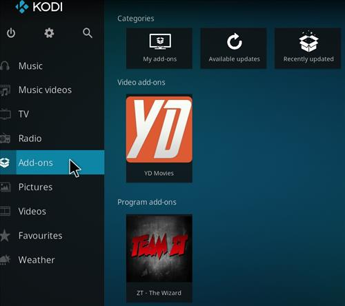 How to Install YD Kodi Add-on with Screenshots step 8