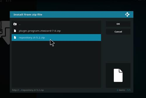 How to Install ZT learning Kodi Add-on with Screenshots step 12