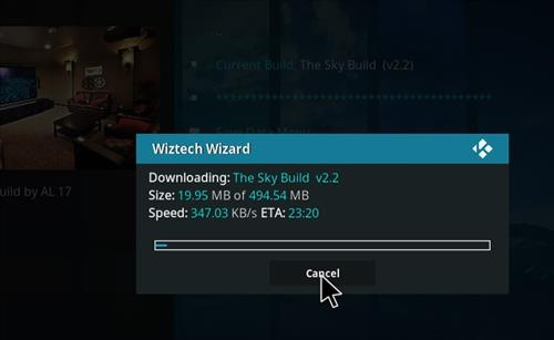 How top Install The Sky Kodi Build with Screenshots step 20