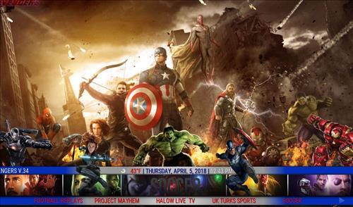 best kodi build The Avengers pic 1