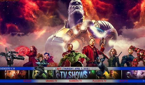 best kodi build The Avengers pic 2