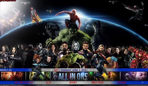 best kodi build The Avengers pic 3