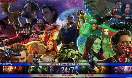 best kodi build The Avengers pic 4