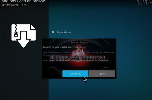 how to install Bk links kodi build with screenshots step 16