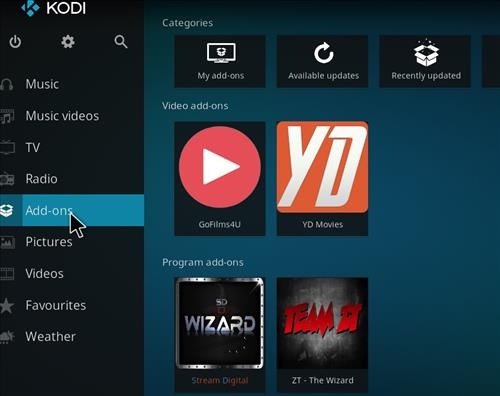 how to install Bk links kodi build with screenshots step 8