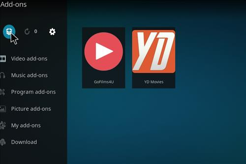 how to install Bk links kodi build with screenshots step 9