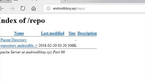 manual and download androidbboy repo step 1