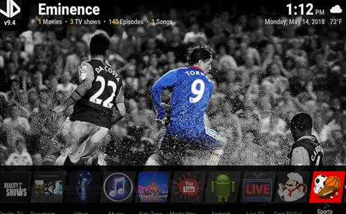 Best Kodi Build Eminence pic 2