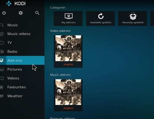 How to Install Angelus Kodi Addon with Screenshots step 8