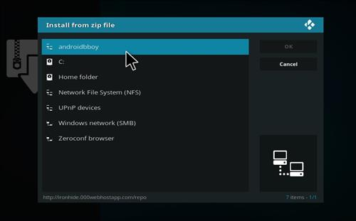 How to Install Anubis Kodi Add-on with Screenshots step 11