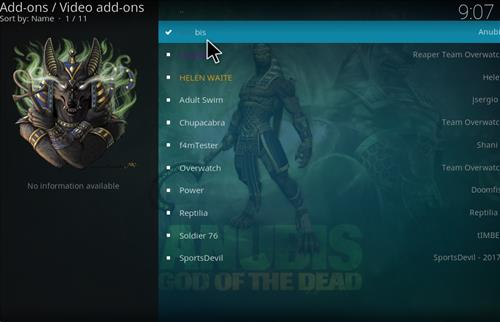 How to Install Anubis Kodi Add-on with Screenshots step 17