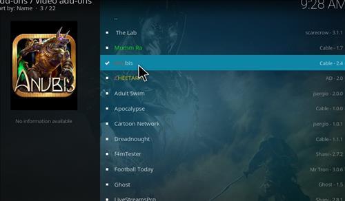 How to Install Anubis Kodi Add-on with Screenshots step 17