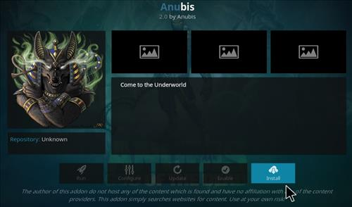 How to Install Anubis Kodi Add-on with Screenshots step 18