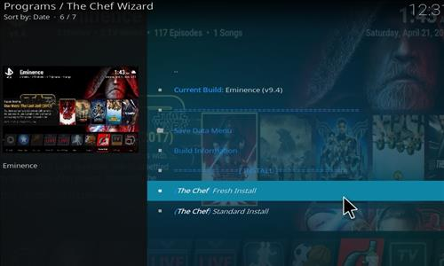 How to Install Eminence Kodi Build with Screenshots step 18