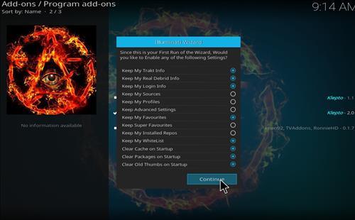 How to Install Fantasia Kodi Build with Screenshots step 20