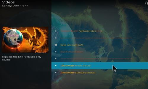How to Install Fantasia Kodi Build with Screenshots step 23