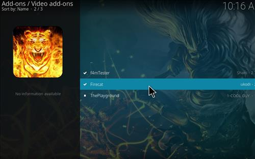How to Install Firecat Kodi Add-on with Screenshots step 17