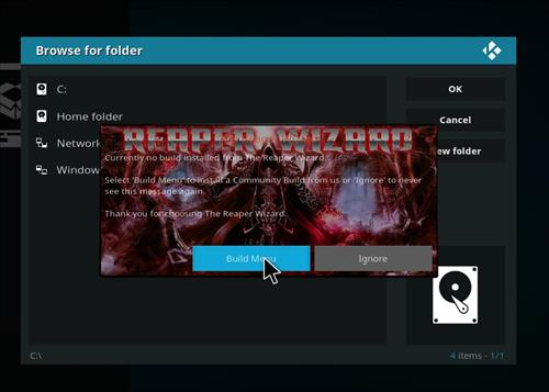 How to Install Ignite Kodi Build with Screenshots step 16