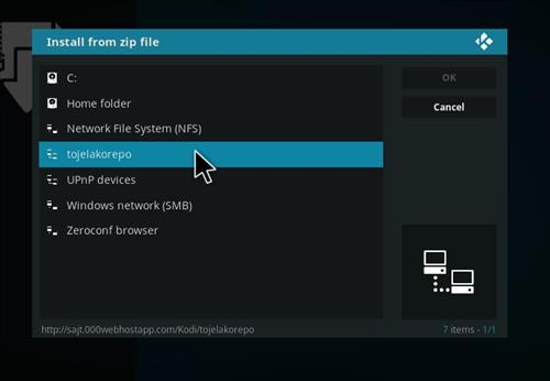 How to Install Nevena Cinema Kodi Add-on with Screenshots step 11