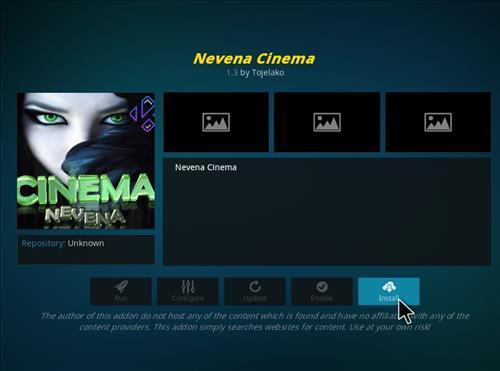 How to Install Nevena Cinema Kodi Add-on with Screenshots step 18