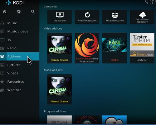 How to Install Nevena Cinema Kodi Add-on with Screenshots step 8