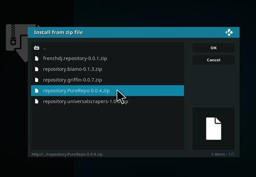 How to Install Show Motions Kodi Add-on with Screenshots step 12