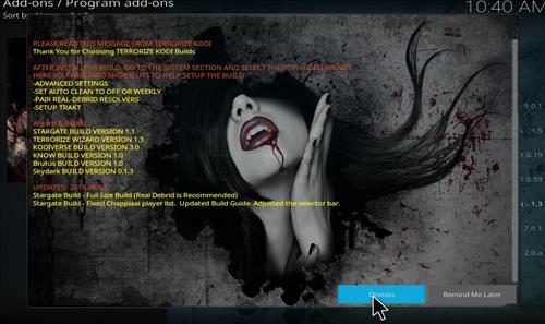 How to Install Stargate Kodi Build with Screenshots step 20