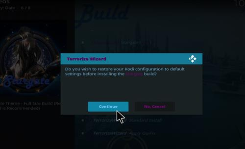How to Install Stargate Kodi Build with Screenshots step 25