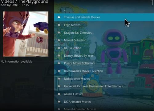 How to Install The Playground Kodi Add-on with Screenshots pic 2