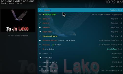 How to Install Tojelako Kodi Add-on with Screenshots step 17