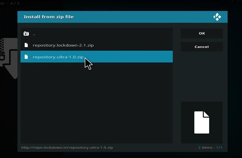 How to Install Ultra Repository with Screenshots step 12