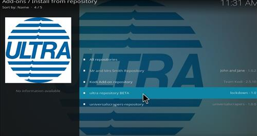 How to Install Ultra Repository with Screenshots step 15