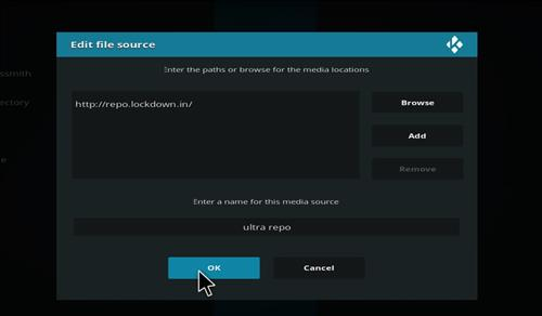 How to Install Ultra Repository with Screenshots step 7