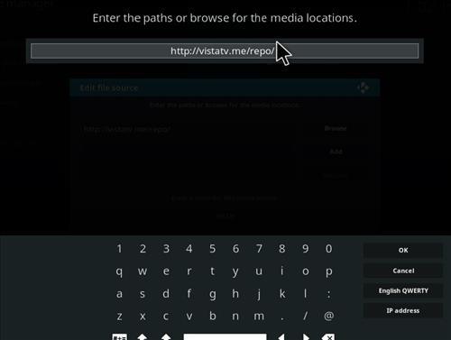 How to Install VistaTV Kodi Cleaner with Screenshots step 5