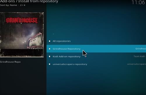How to Installl Grindhouse Beauty Kodi Add-on with Screenshots step 15
