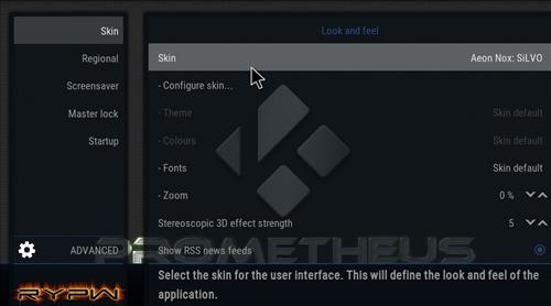 How to change the Skin back to Default Estuary Prometheus step 3