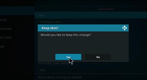 How to change the Skin back to Default Estuary Prometheus step 5