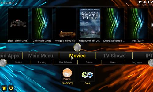best Kodi build Titanium pic 1