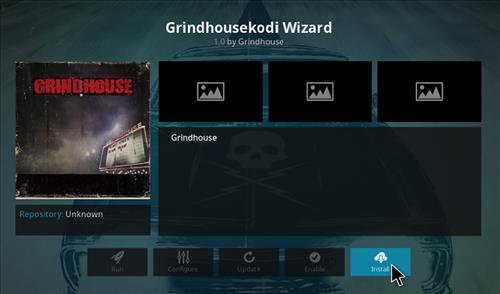 how to install GRINDHOUSE Builds with screnshots step 18