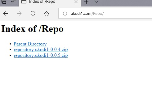 manual and download ukodi1 repo step 1