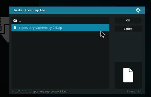 How to Install Aspis Kodi Add-on with Screenshots step 13