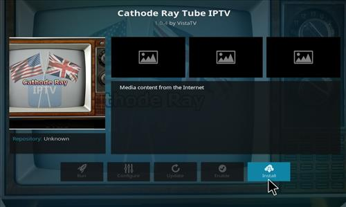 How to Install Cathode Ray Tube IPTV Kodi Add-on step 18