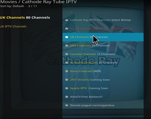 How to Install Cathode Ray Tube IPTV Kodi Add-on step pic 2