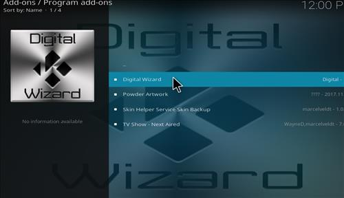 How to Install Diginox Kodi Build with Screenshots step 17
