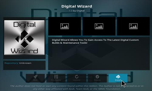 How to Install Diginox Kodi Build with Screenshots step 18