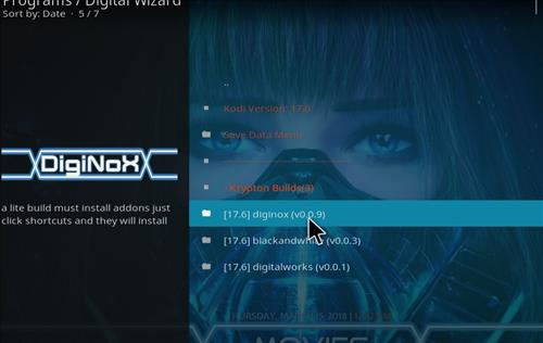 How to Install Diginox Kodi Build with Screenshots step 21