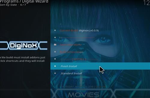 How to Install Diginox Kodi Build with Screenshots step 22